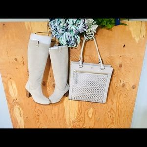 KATE SPADE Like-New Large Eyelet Tote